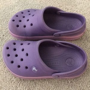 Crocs • juniors J2 • crocband clog • grape purple